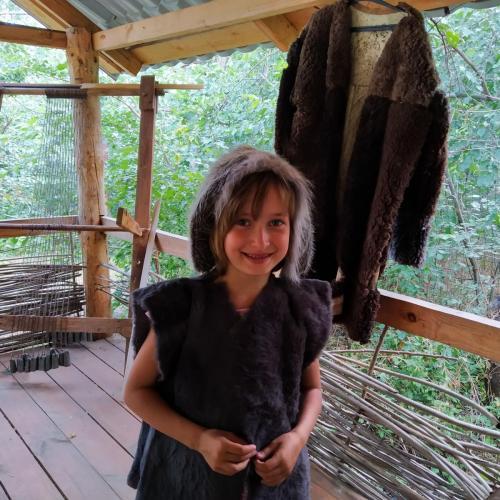 Занятие по ткачеству в Бронзовом веке
