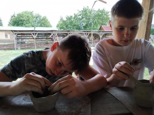 Занятие по гончарному мастерству в Бронзовом веке