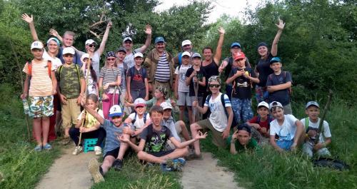 Все мужественные участки, прошедшие весь путь от Затерянного Мира до настоящих раскопок в Ракушечном Яру - 17 км!